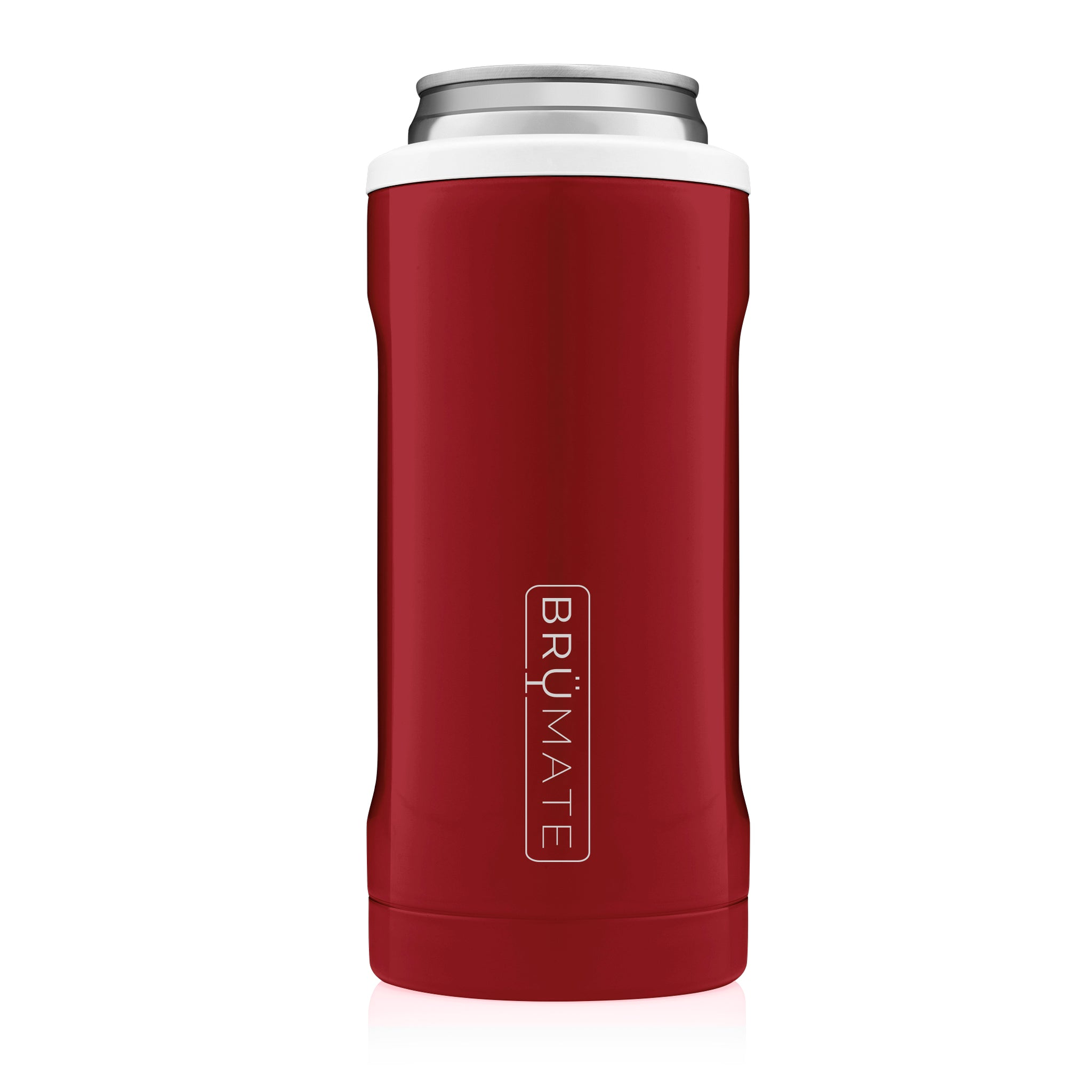 Hopsulator Slim | Red & White (12oz slim cans)