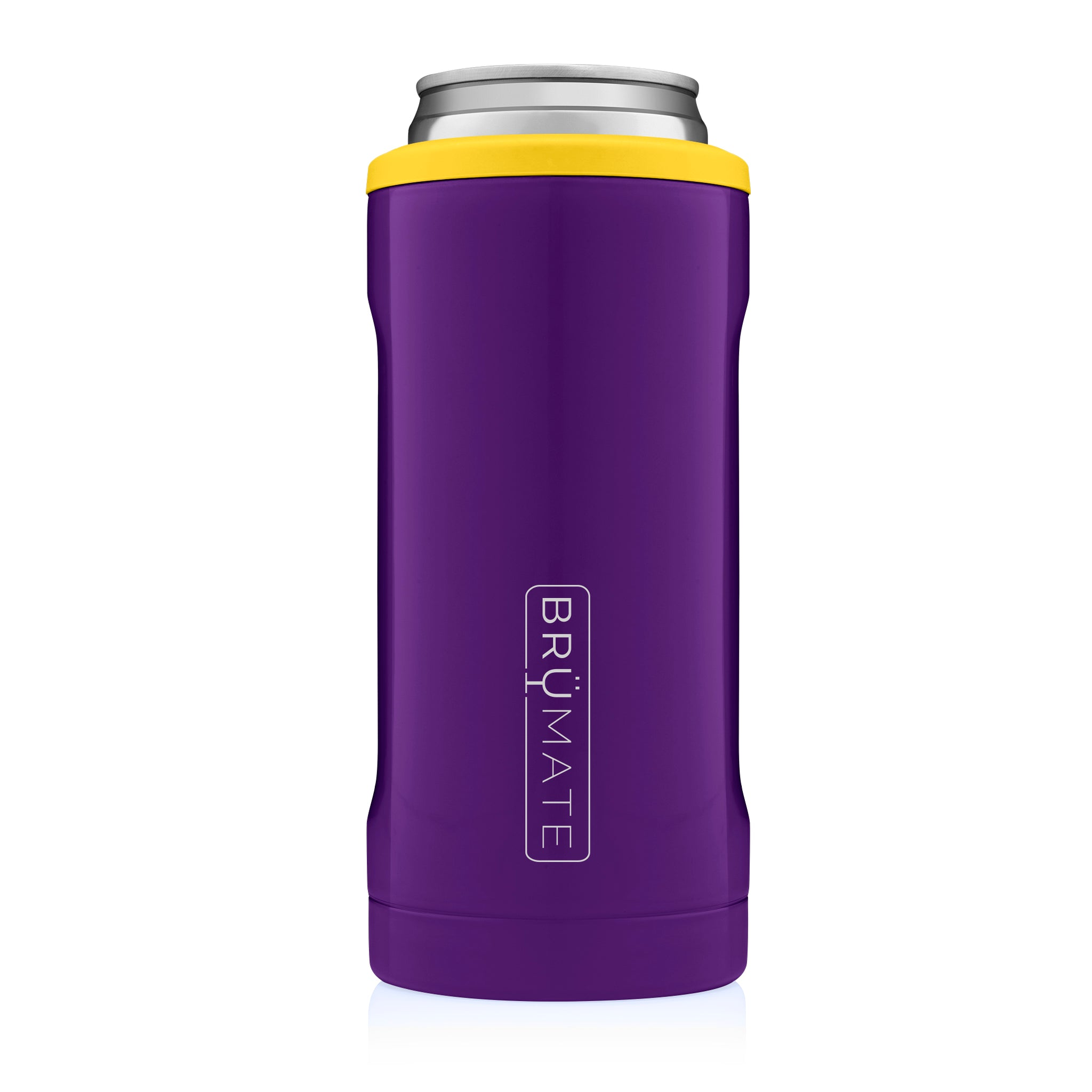 Hopsulator Slim | Purple & Yellow (12oz slim cans)