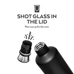 BrüMate Fifth 25oz Liquor Canteen | Dark Aura thumbnail image 4
