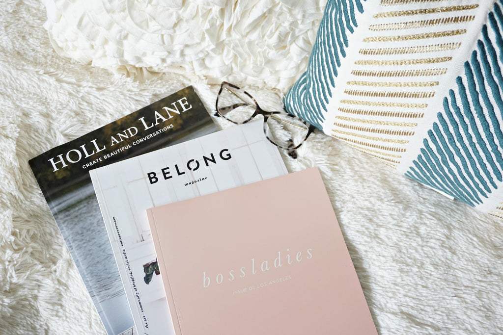 3 Magazines to Relax & Unwind With