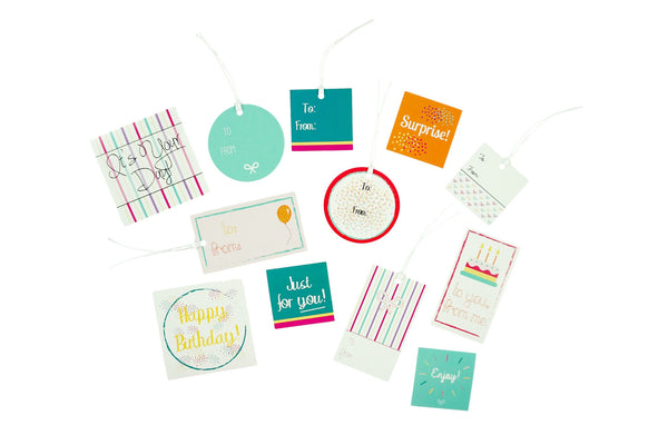Birthday Gift Tag and Sticker Pack