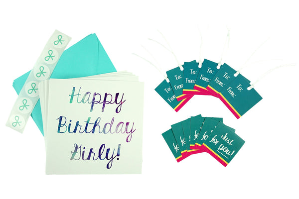 Just for you! Set with Cards, Gift Tags, and Stickers
