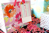 Striped Hanging Gift Tags for Gift Wrapping