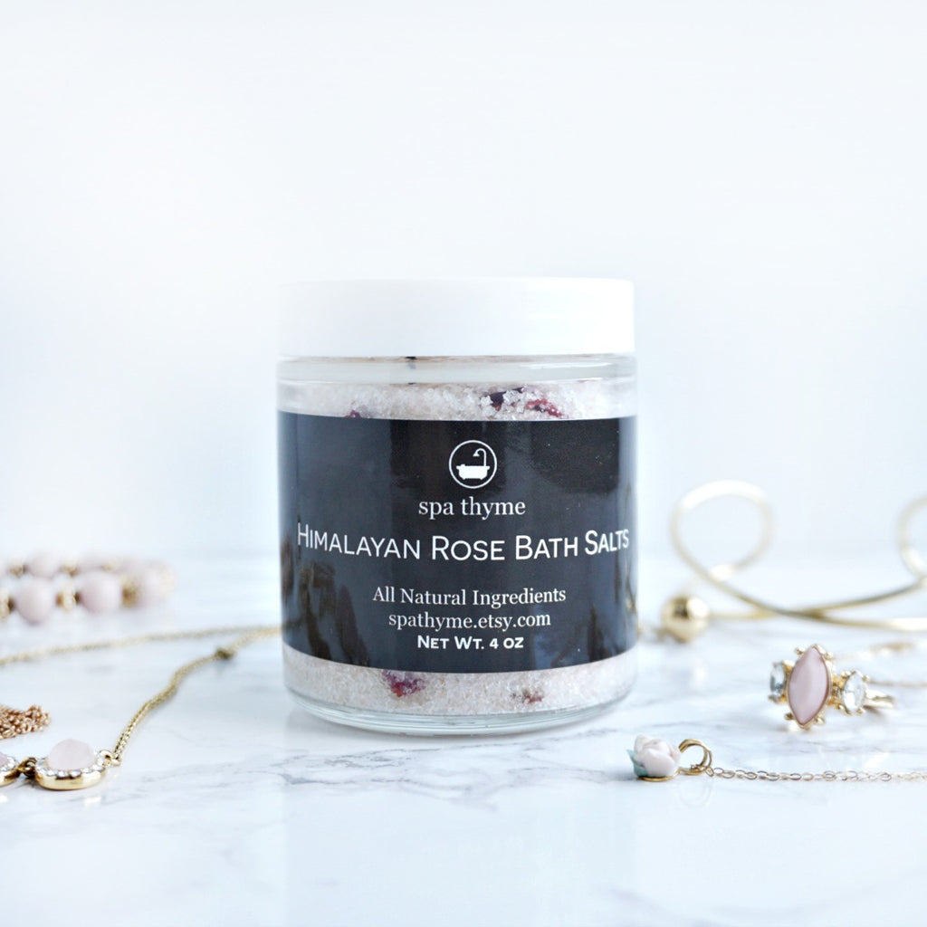 Himalayan Rose Bath Salts