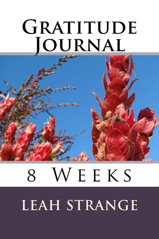 Gratitude Journal, 8 Weeks