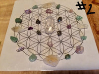 Mini Crystal Grid, Prosperity & Abundance #2