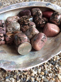Rhodonite, Tumbled