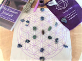 Crystal Grids for Third Eye Chakra