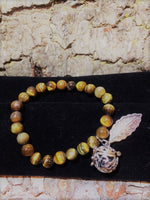 Aromatherapy Bracelet with locket