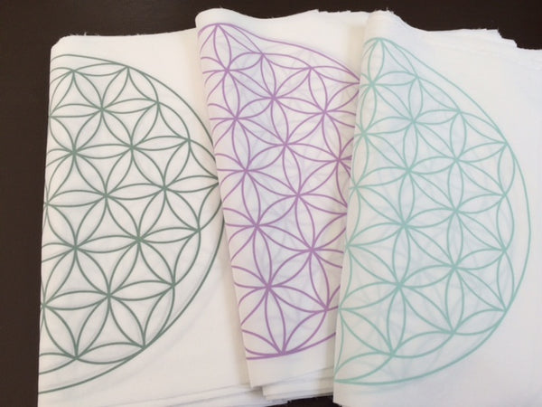 Crystal Grid Cloth, Flower of Life
