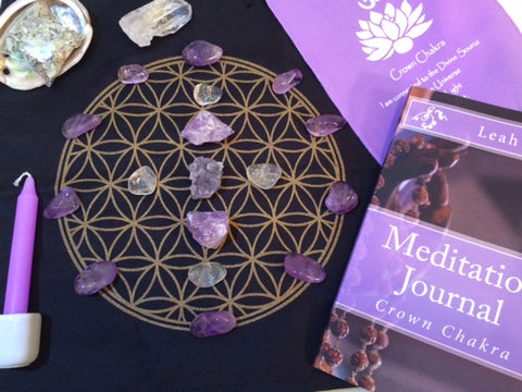 Crystal Grids for Crown Chakra
