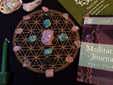 Crystal Grids for Heart Chakra