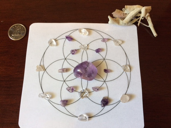 Mini Crystal Grid, Align Your Intention
