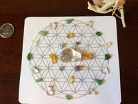 Mini Crystal Grid, Prosperity & Abundance