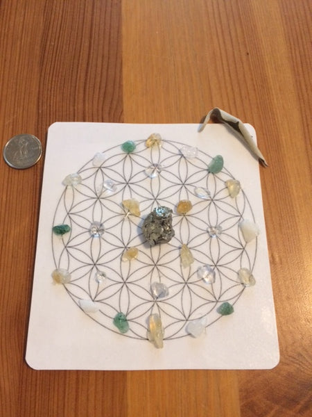 Mini Crystal Grid, Positive Energy Flow