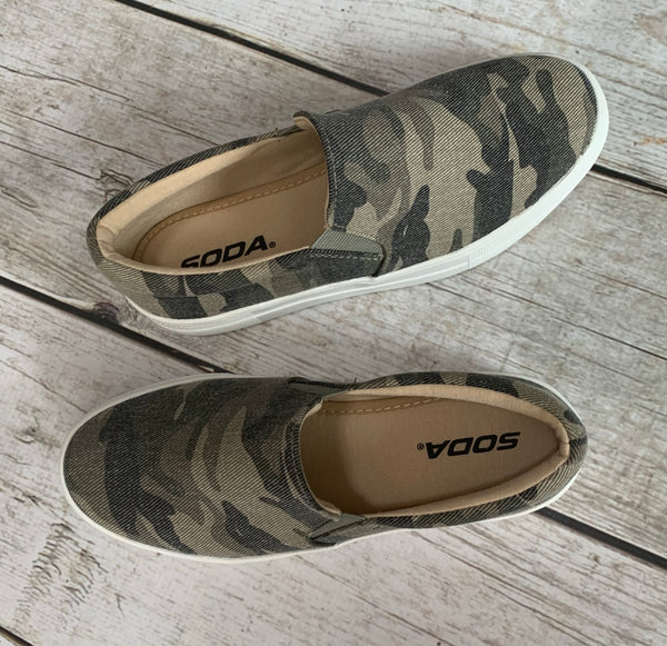 Take a Hike Slip Ons
