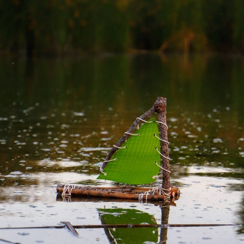 Nature Sailboats Father's Day Craft