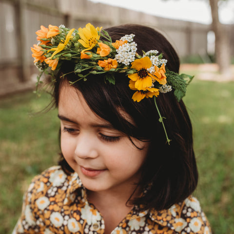 Make May Day Flower Crown DIY Waldorf