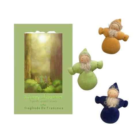 A Donsey of Gnomes by Sieglinde De Francesca paired with Waldorf Pocket Gnomes
