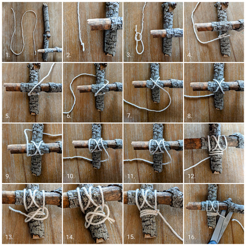 Knot tying for nature sailboats with @waldorfdads