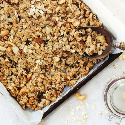homemade granola healthy snacks for kids