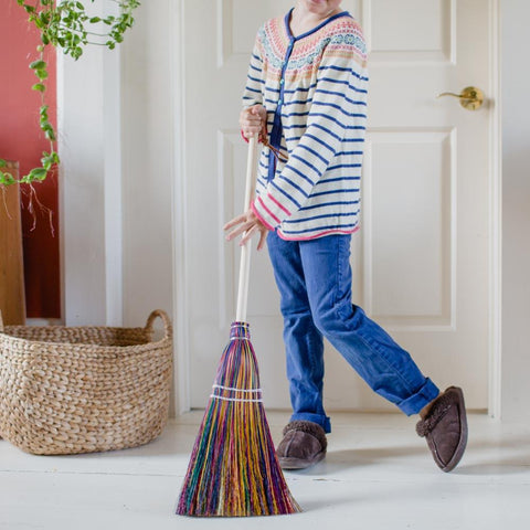 Child's Rainbow Broom - Bella Luna Toys