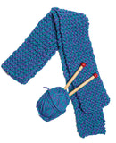 Quick to Knit scarf