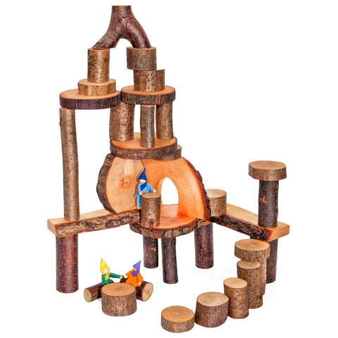 Magic Wood Eco Blocks Tree Branch Building Blocks