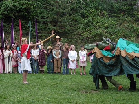Taming of the Dragon at a Waldorf School