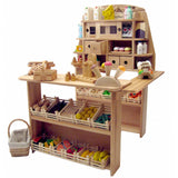 Wooden Grocery Store - Market Stand