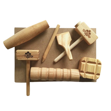 Wooden Play Dough Tools Set | Bella Luna toys