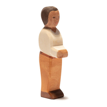 Ostheimer Father - Dark Skin - Waldorf Wooden Figure
