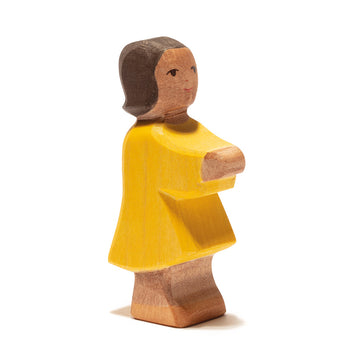 Ostheimer Daughter - Dark Skin - Wooden Figure | Bella Luna Toys