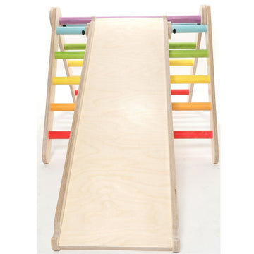 Slide Attachment - Pikler Climbing Triangle - Sawdust and Rainbows