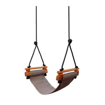 Solvej Child Swing in Taupe - Bella Luna Toys