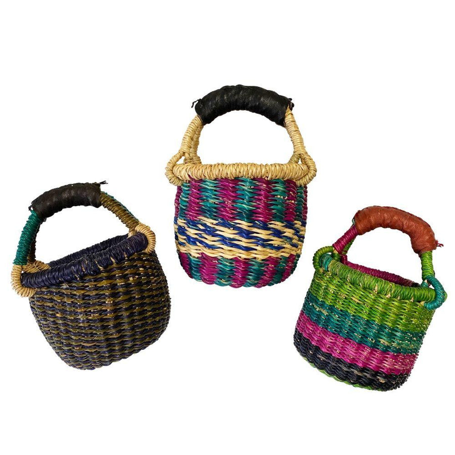 Mini Bolga Baskets - Bella Luna Toys
