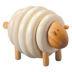 Plan Toys- Wooden Lacing Sheep - Bella Luna Toys