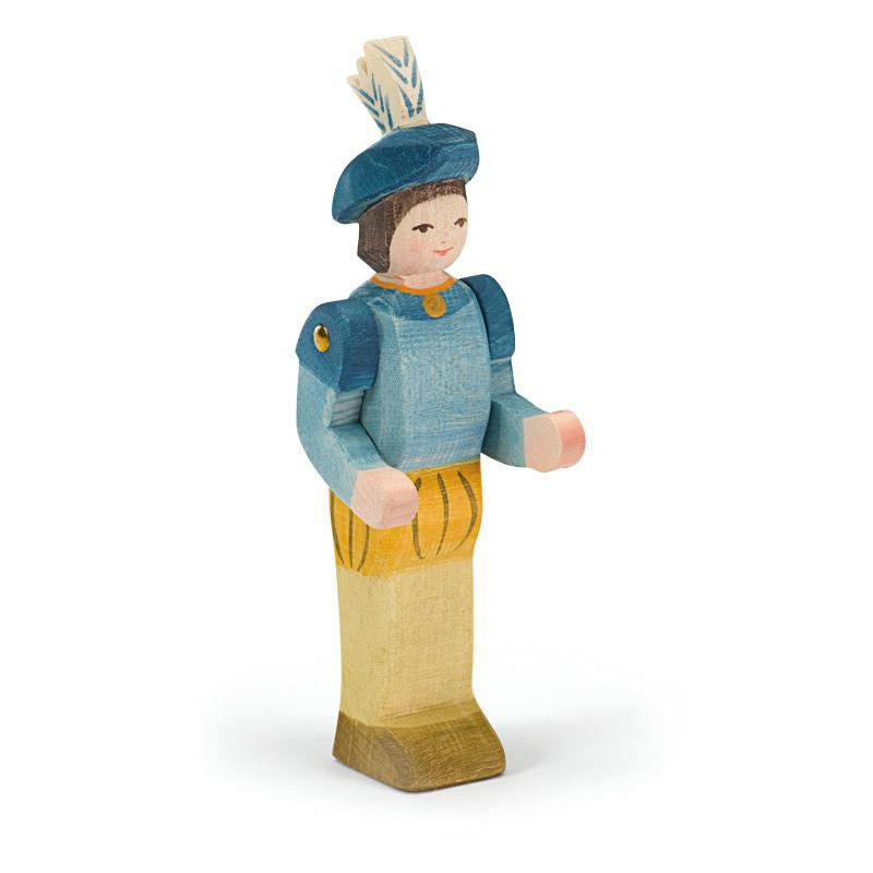 Ostheimer Wooden Figure - Crown Prince - Bella Luna Toys