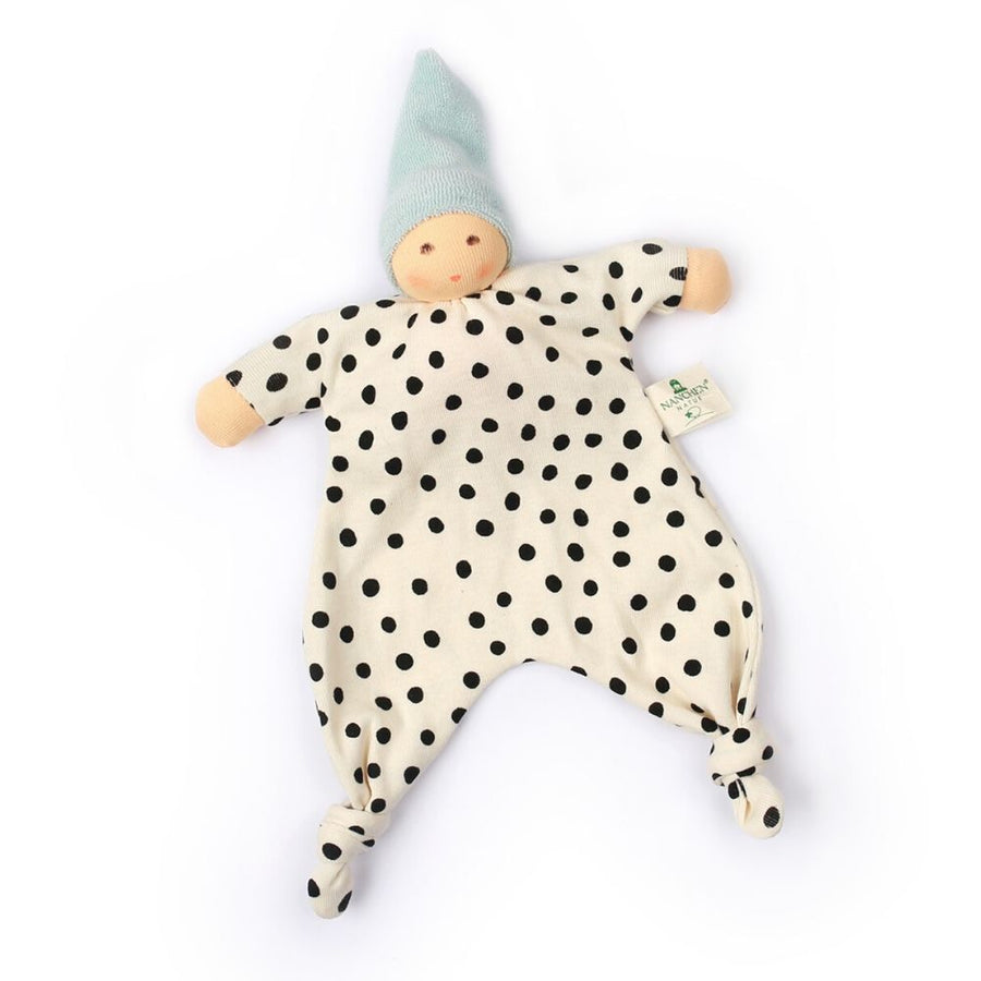 Organic Little Dot Blanket Doll (Multiple Colors)