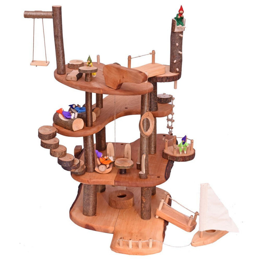 Large Wooden Branch Tree House with Accessories - Magic Wood | Bella Luna Toys