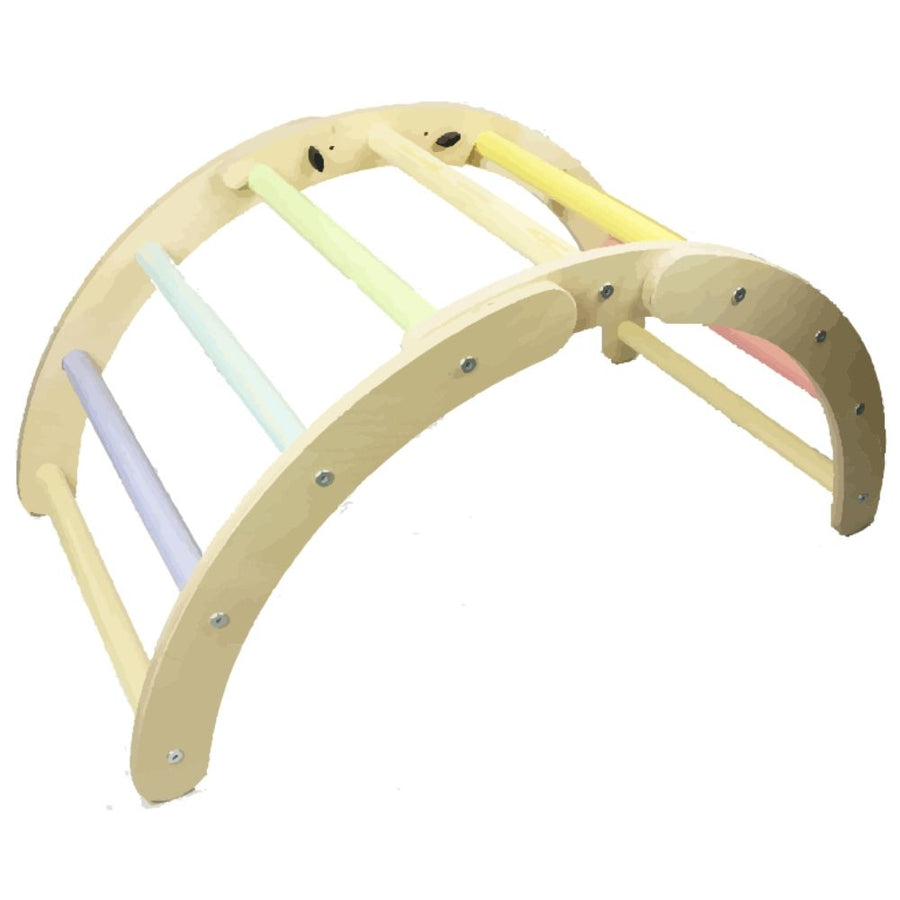Pastel Folding Hump Arch - Climbing - Sawdust and Rainbows