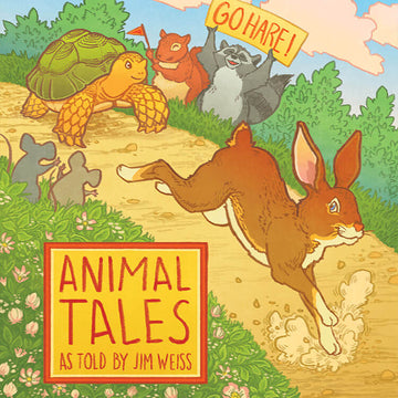 Animal Tales, Jim Weiss, Storytelling Audiobook CD | Well Trained Mind | Bella Luna Toys