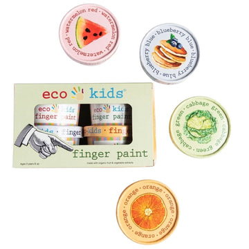Eco Kids - Finger Paint - Bella Luna Toys