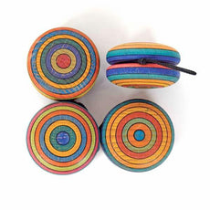 Mader Striped Wooden Yo-Yo - Bella Luna Toys