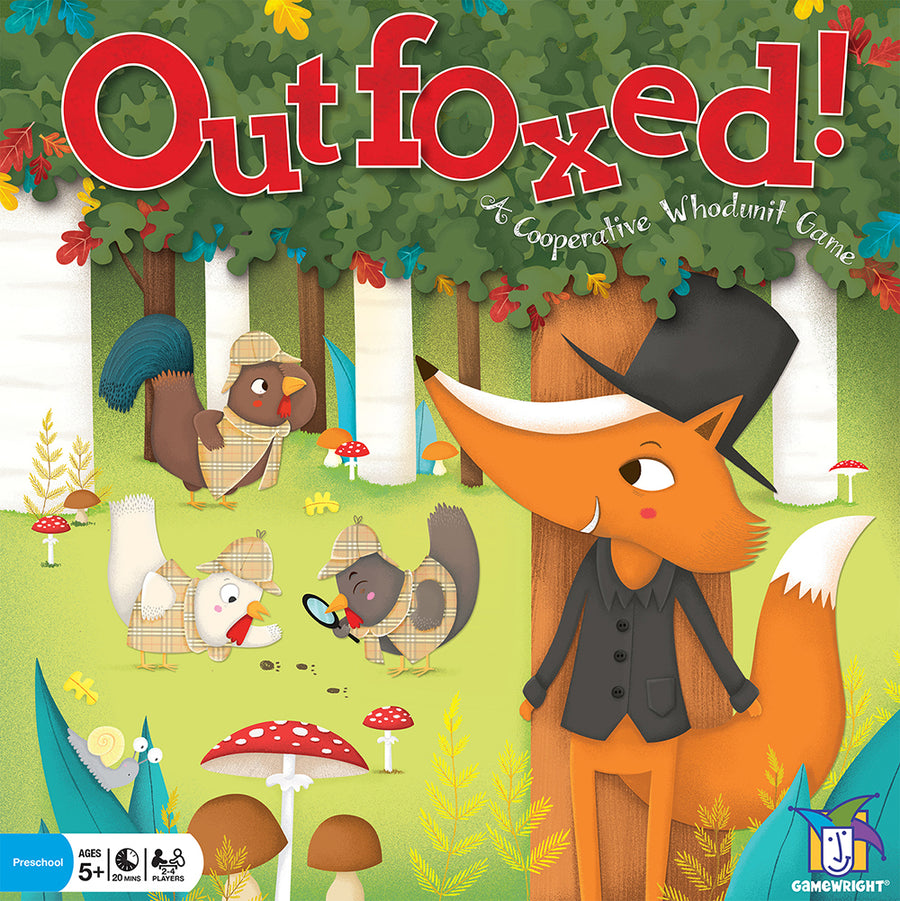 Gamewright | Outfoxed Cooperative Board Game | Bella Luna Toys