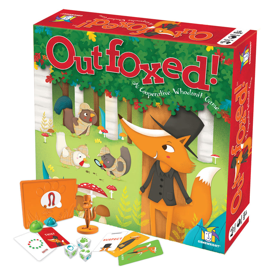 Outfoxed Board Game | Gamewright | Bella Luna Toys