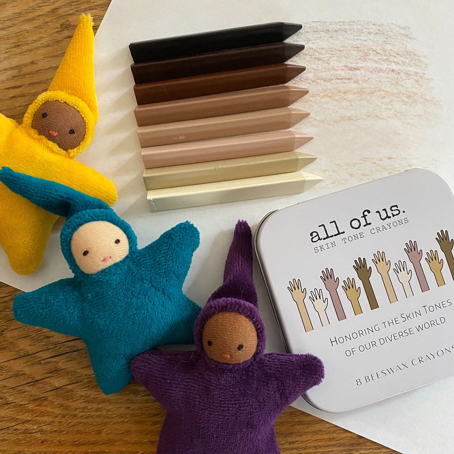 All of Us - Skin Tone Crayons