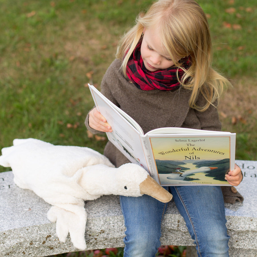 Organic Goose Stuffed Animal - The Wonderful Adventures of Nils
