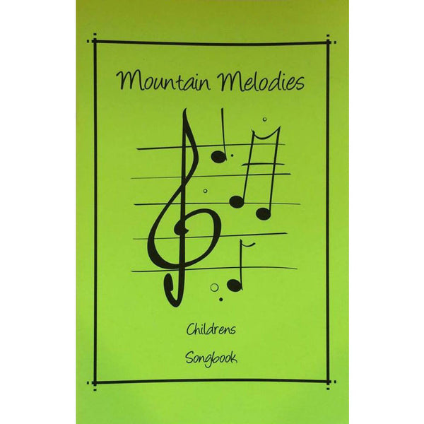 Mountain Melodies Thumb Piano Children-s Songbook