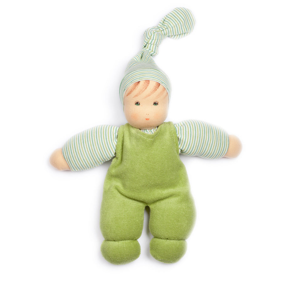 Nanchen Harper Cuddle Baby Doll - Green | Bella Luna Toys